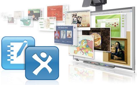 Добірка ресурсів з використання Smart  Notebook для інтерактивних дощок